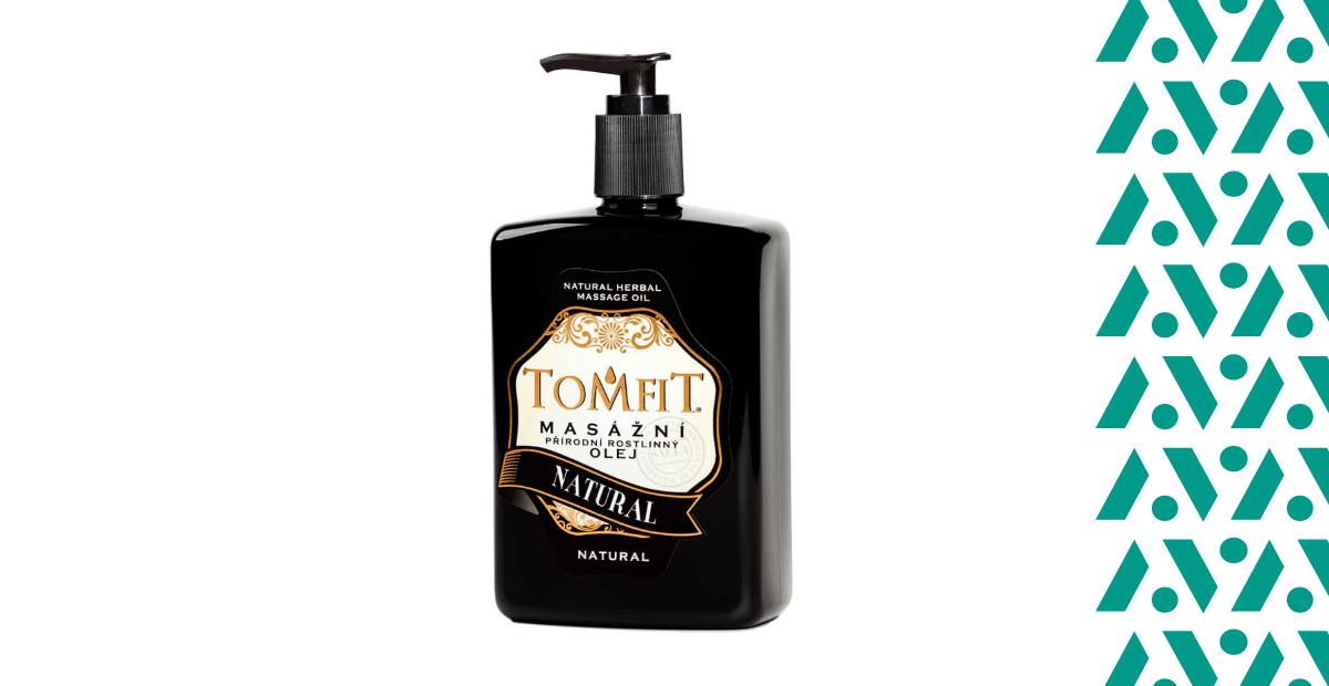 Tomfit Natural masszázsolaj